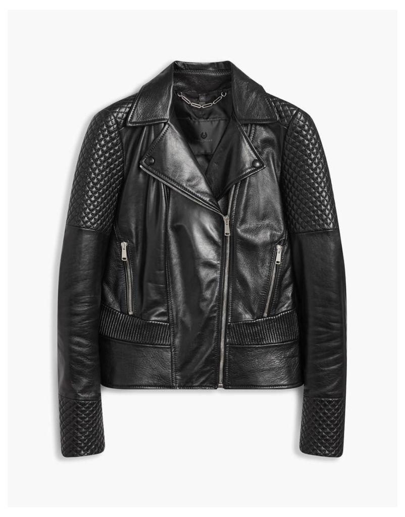 Belstaff Matterlex Biker Jacket Black