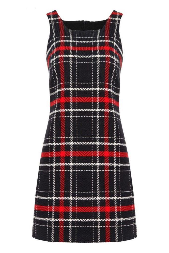 Hayley Check Dress
