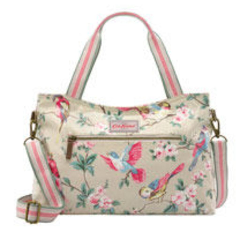 British Birds Zipped Handbag