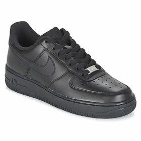 Nike  AIR FORCE 1 '07 W  women's Shoes (Trainers) in Black