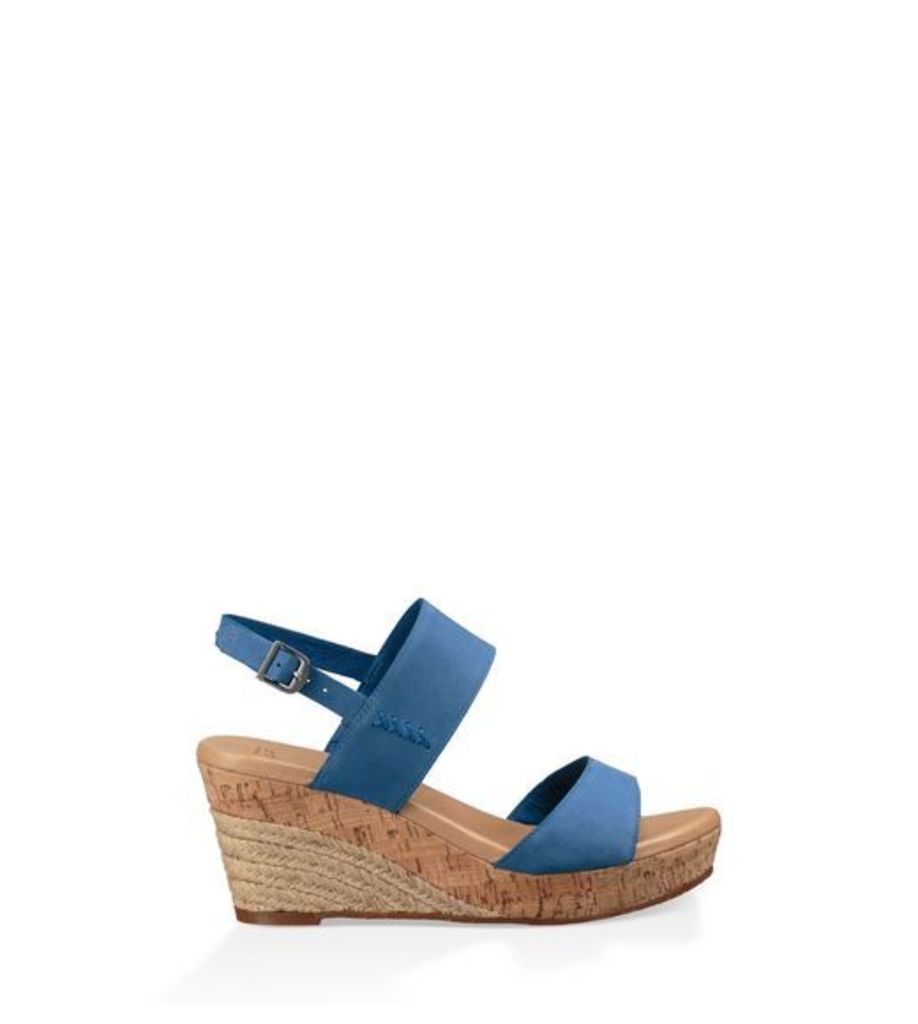UGG Elena Womens Sandals Azul 5