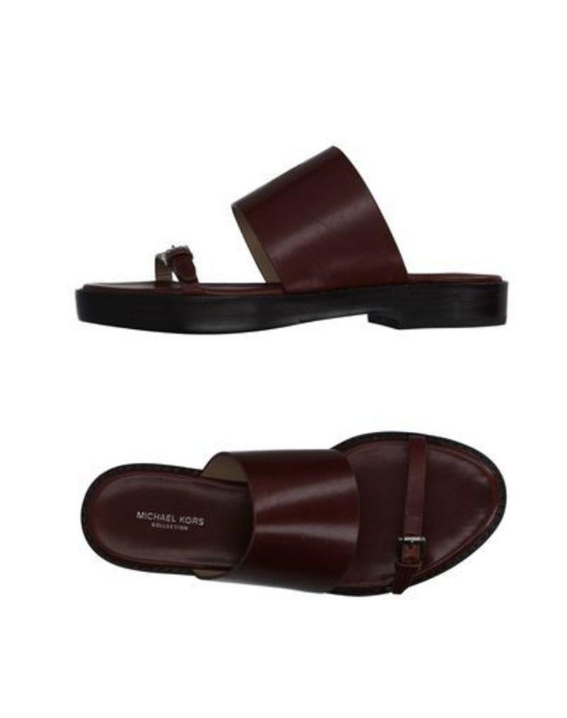 MICHAEL KORS COLLECTION FOOTWEAR Sandals Women on YOOX.COM