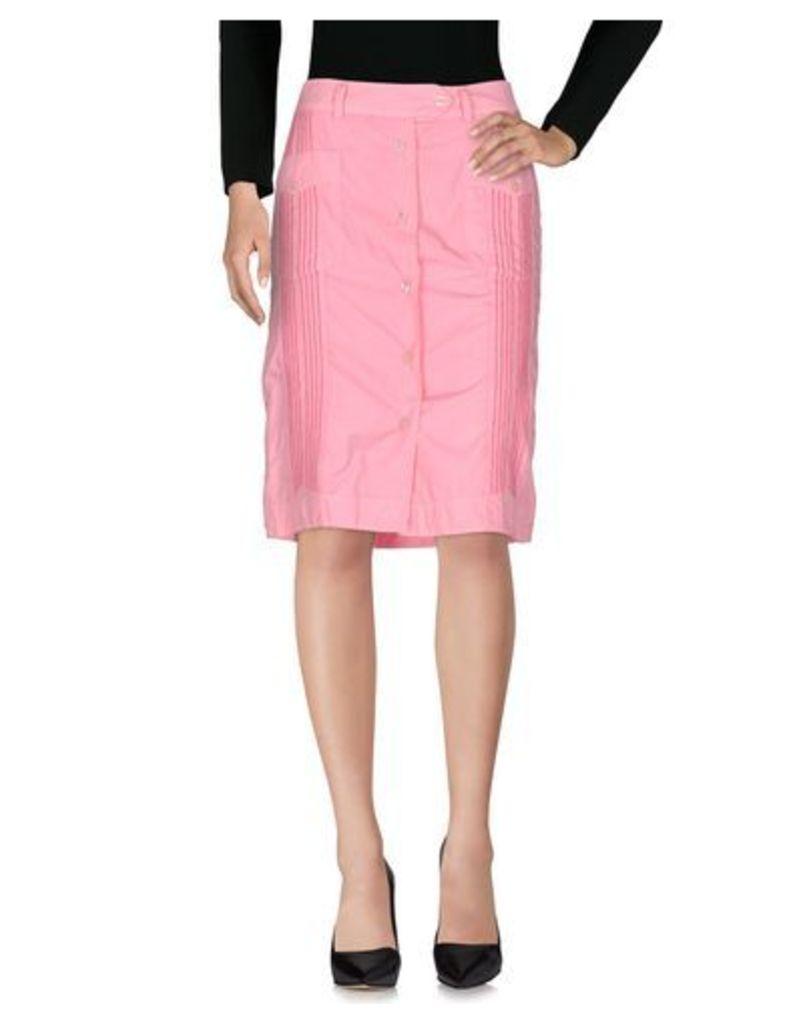 PAUL SMITH PINK SKIRTS Knee length skirts Women on YOOX.COM