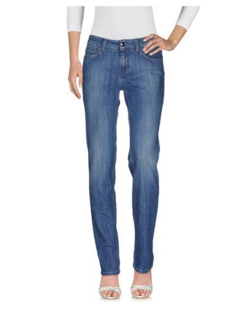 FAY DENIM Denim trousers Women on YOOX.COM