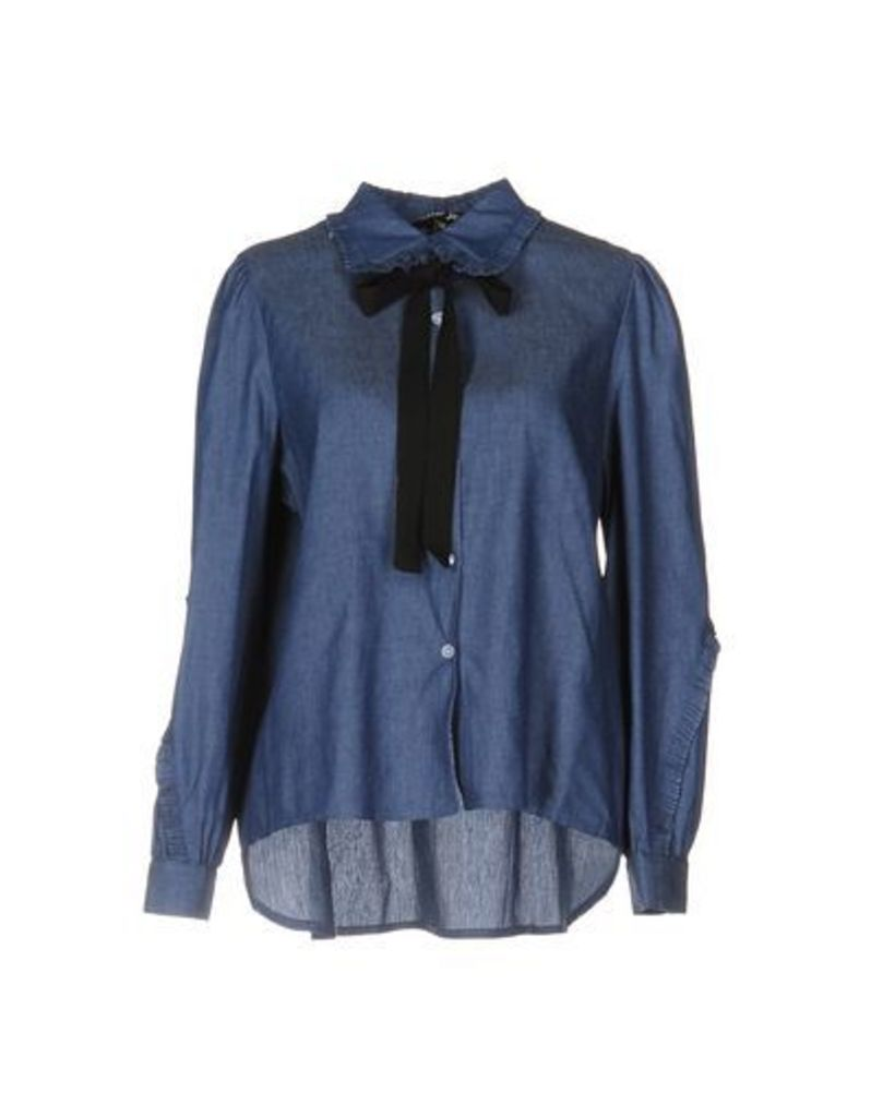 SISTER JANE DENIM Denim shirts Women on YOOX.COM