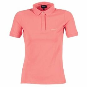 Armani jeans  IMALORE  women's Polo shirt in Pink