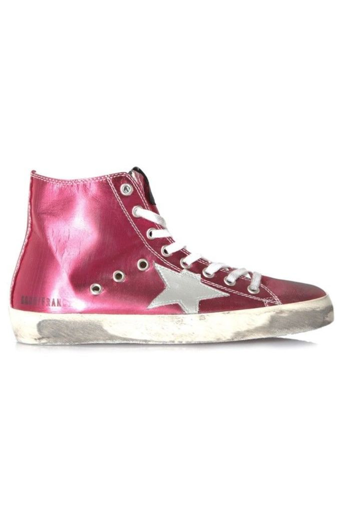 Sneakers Francy Strawberry Silver Star