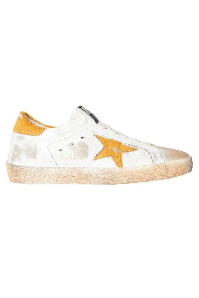 Sneakers Superstar Orange Pony