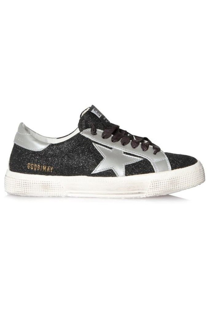 Sneakers May Black Glitter