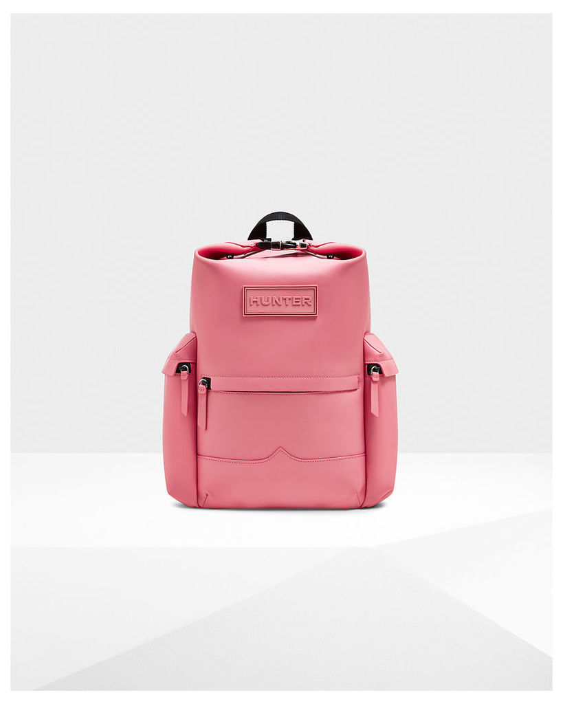 Original Top Clip Backpack - Rubberised Leather