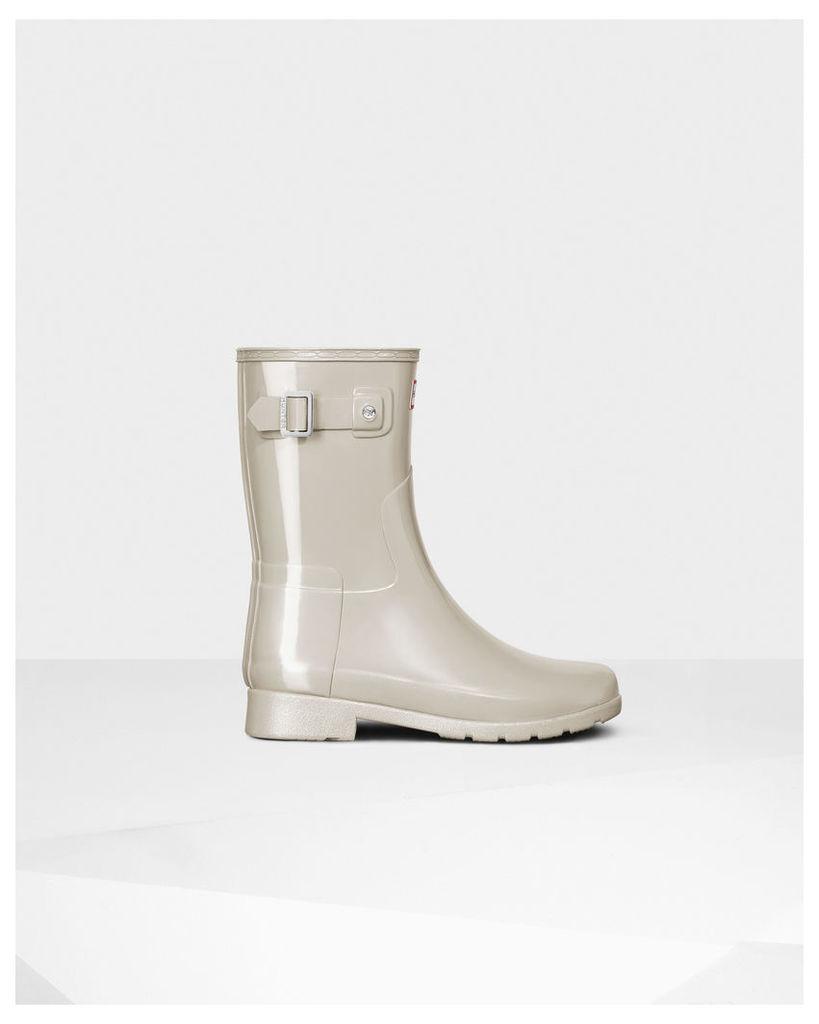 Women's Original Short Refined Gloss Wellington Boots