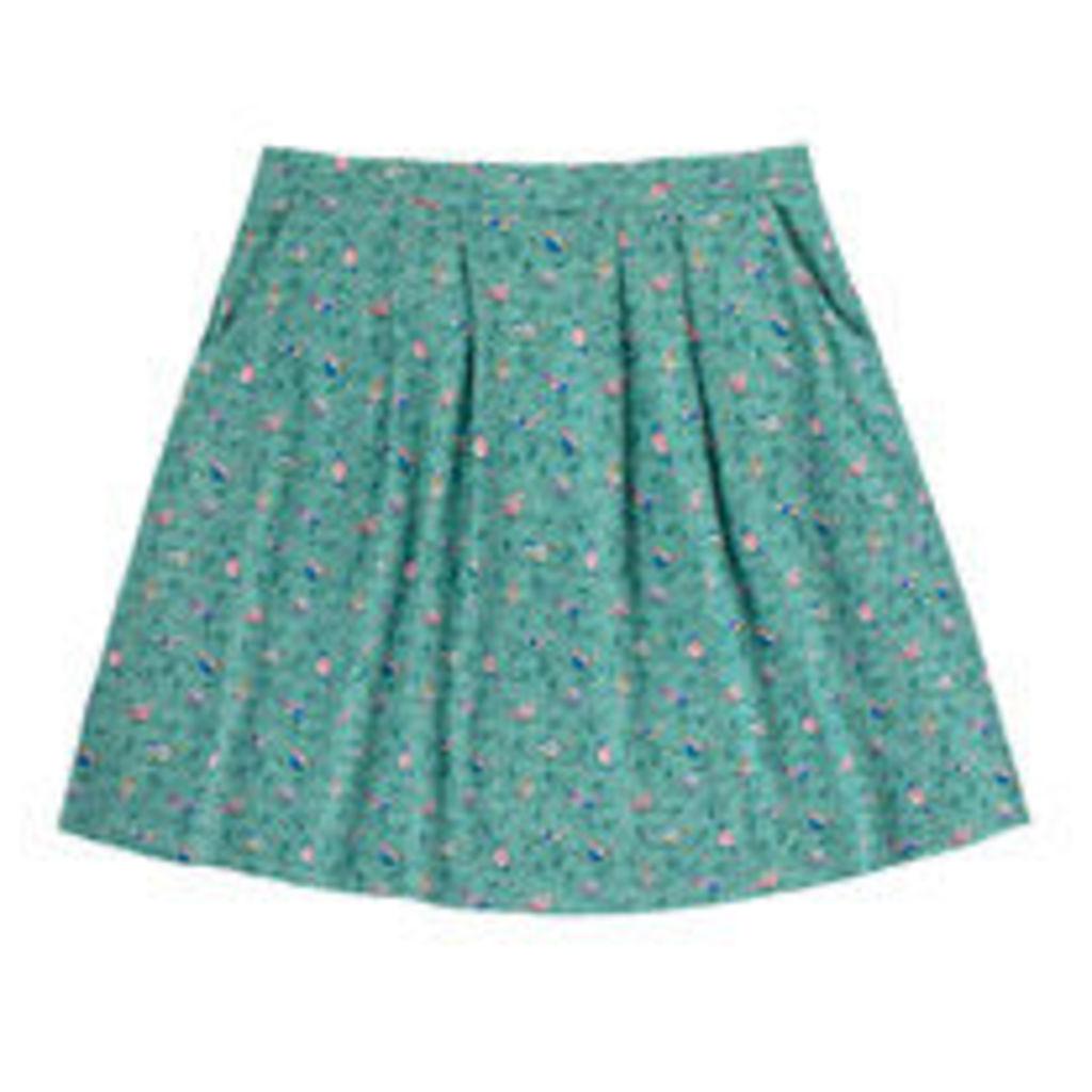 Little Birds Jersey Skirt