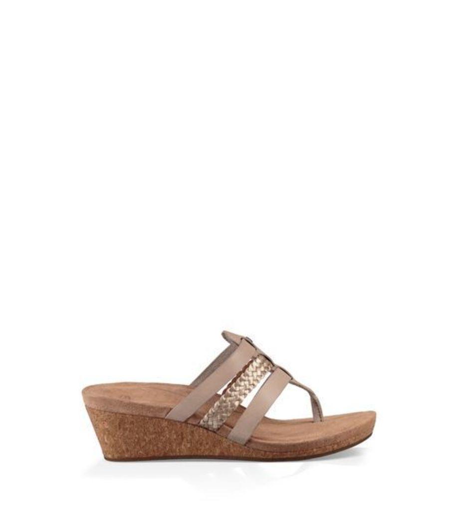 UGG Maddie Womens Sandals Horchata 9