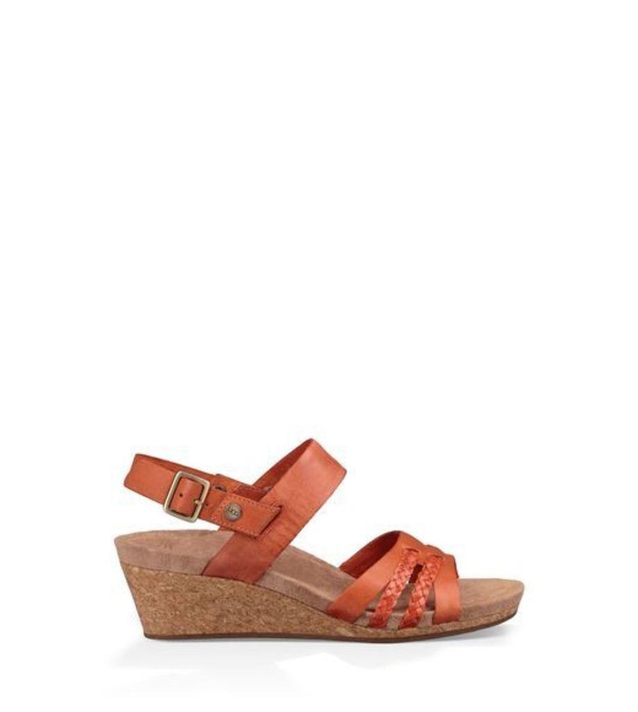 UGG Serinda Womens Sandals Fire Opal 9