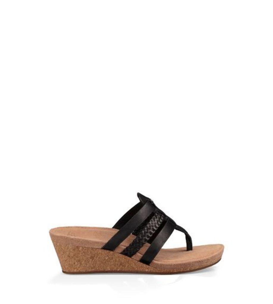 UGG Maddie Womens Sandals Black 10