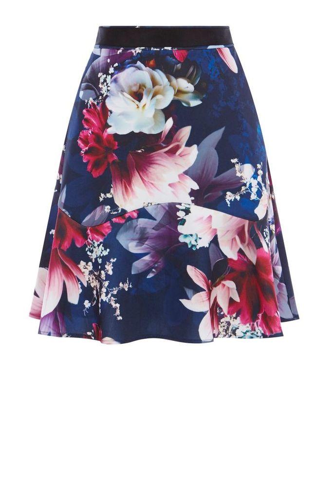 Coast Dayna Print Skirt, Multi-Coloured
