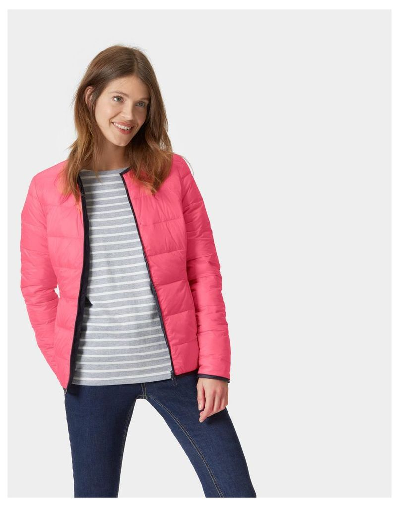 Rose Hip Springhill Reversible Puffa Jacket  Size 8 | Joules UK