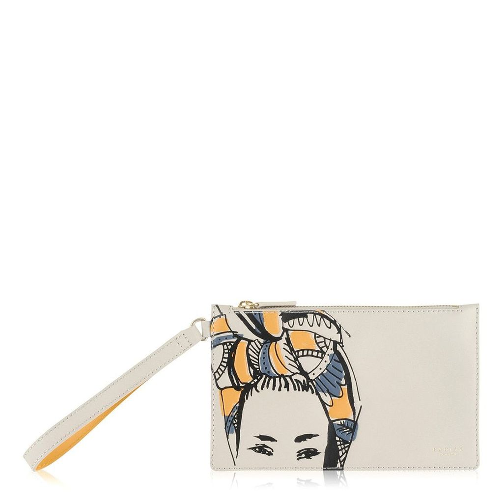 Radley London Faces Of The City Small Ziptop Clutch
