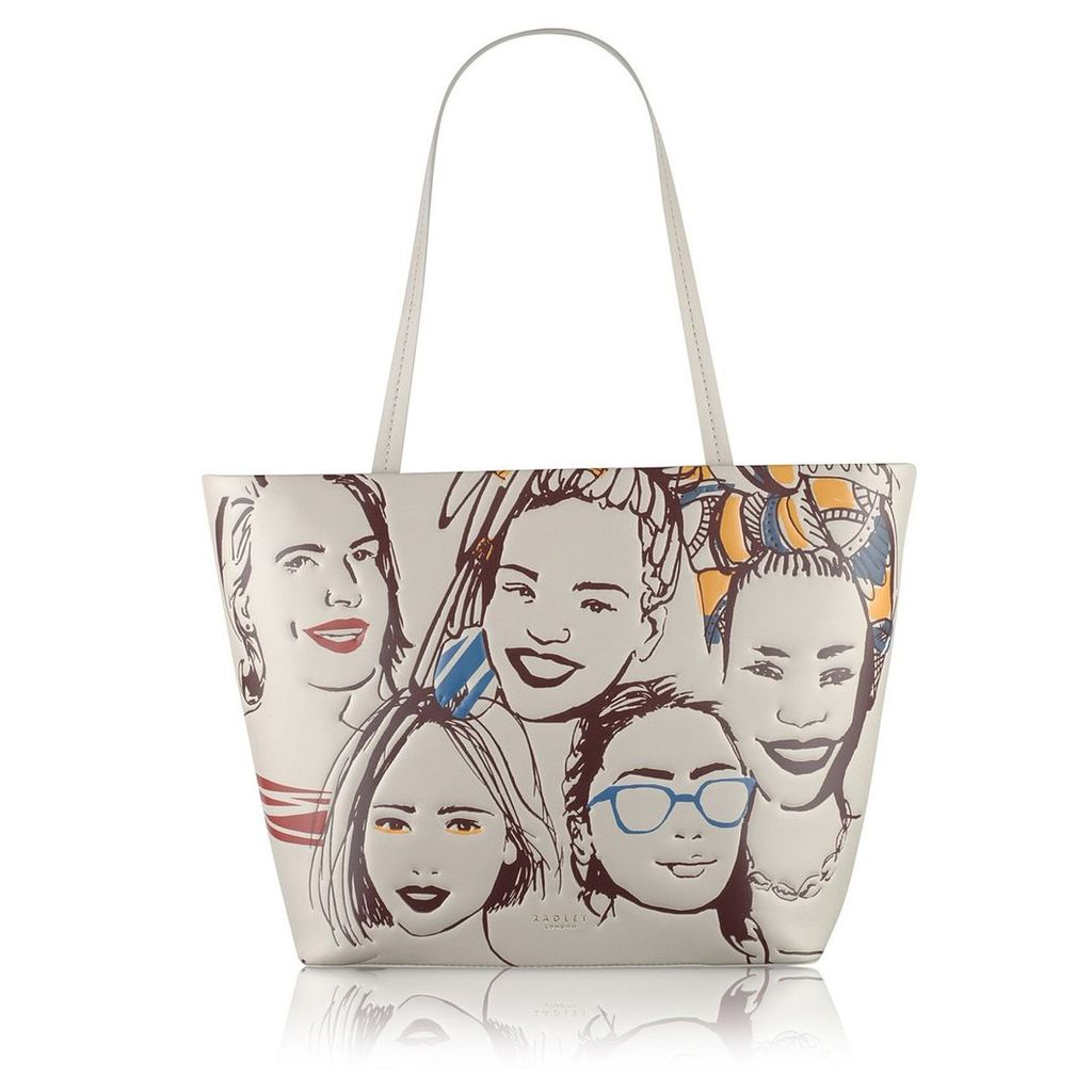 Radley London Faces Of The City Large Ziptop Tote