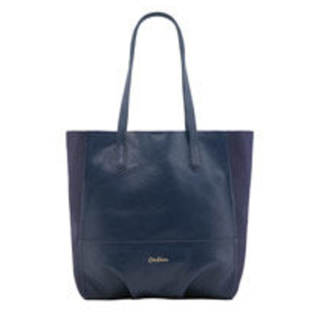 Leather & Suede Tote