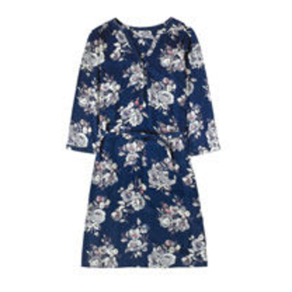 Windflower Bunch Shirt Dress