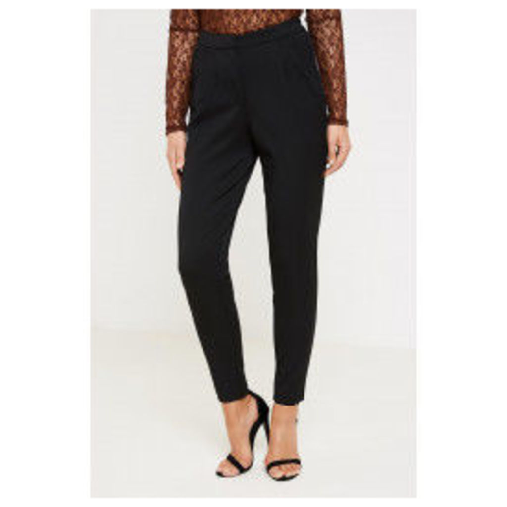 Y.A.S. Clady Pleated Trousers - Black