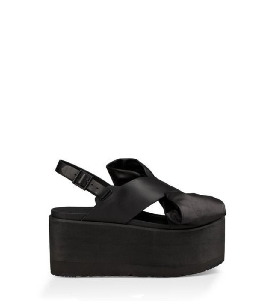 UGG The Moon Bow Womens Sandals Black 7