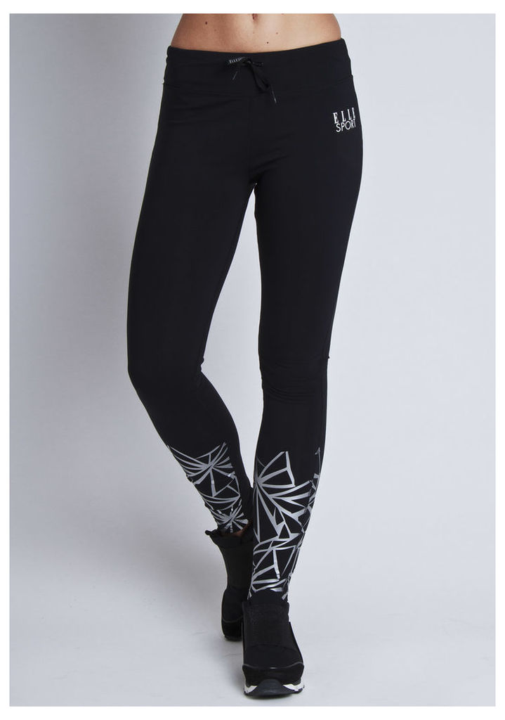ELLESPORT Graphic Printed Tight