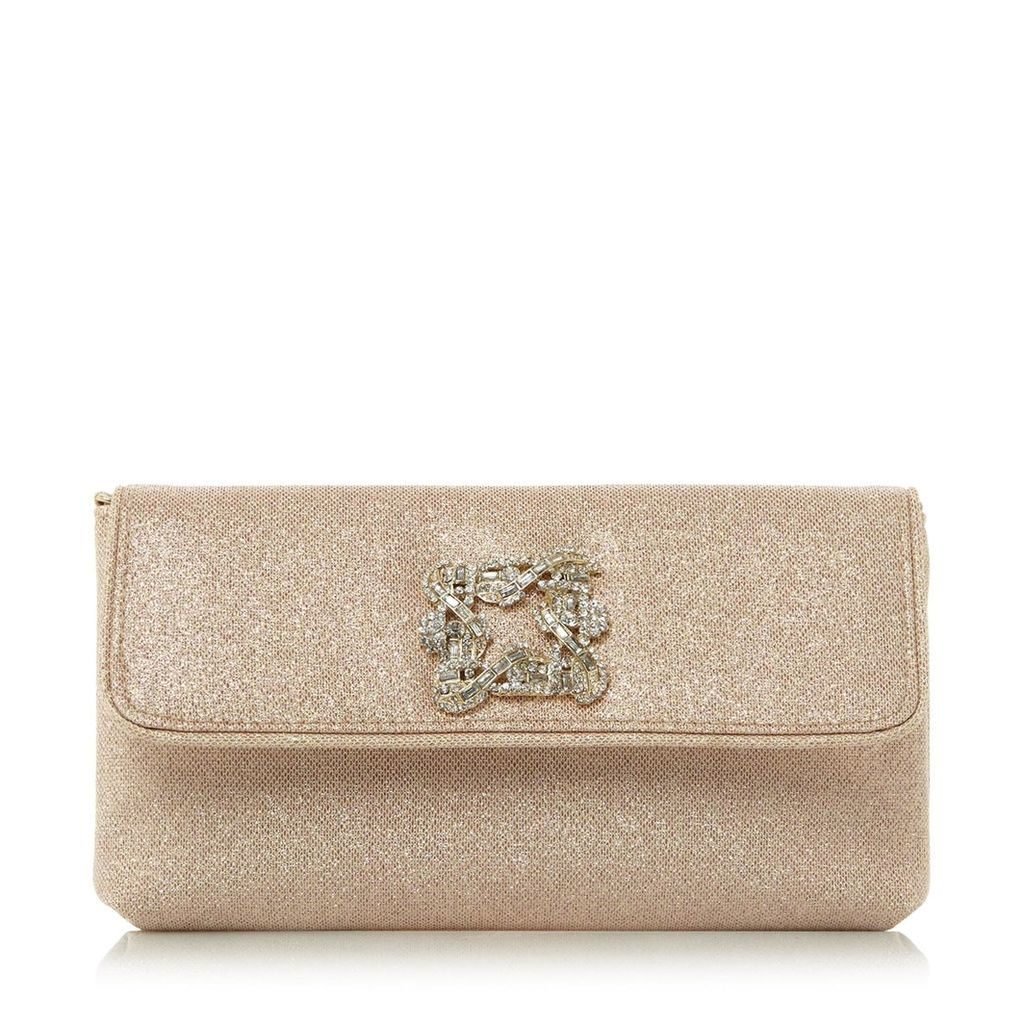 Betsey Jewelled Brooch Clutch Bag