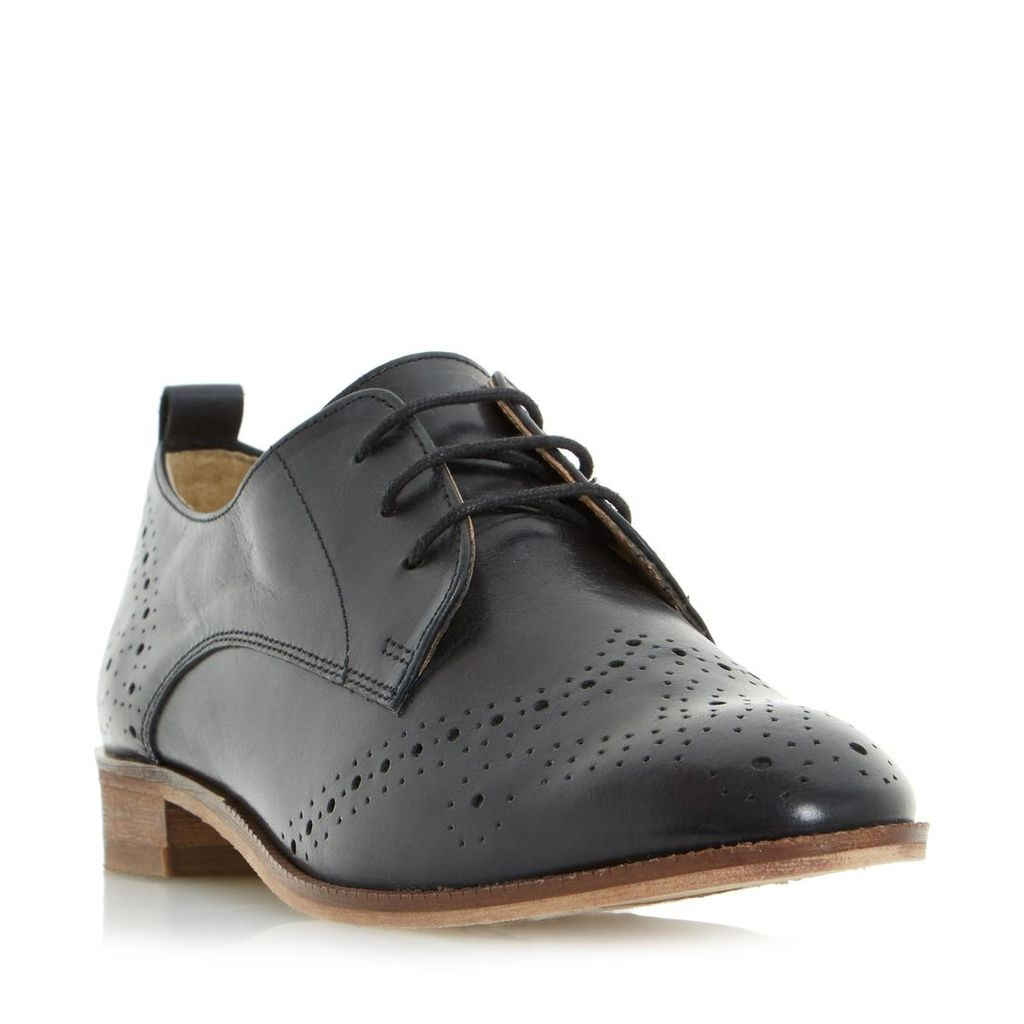 Foster Brogue Detail Lace Up Shoe
