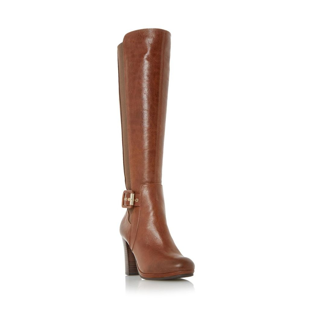 Scout Buckle Detail Knee High Boot