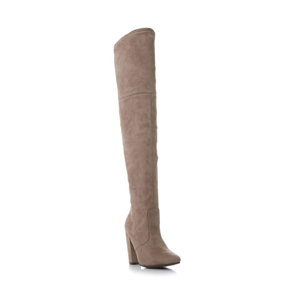 Rocking Sm Pointed Toe Over The Knee Boot
