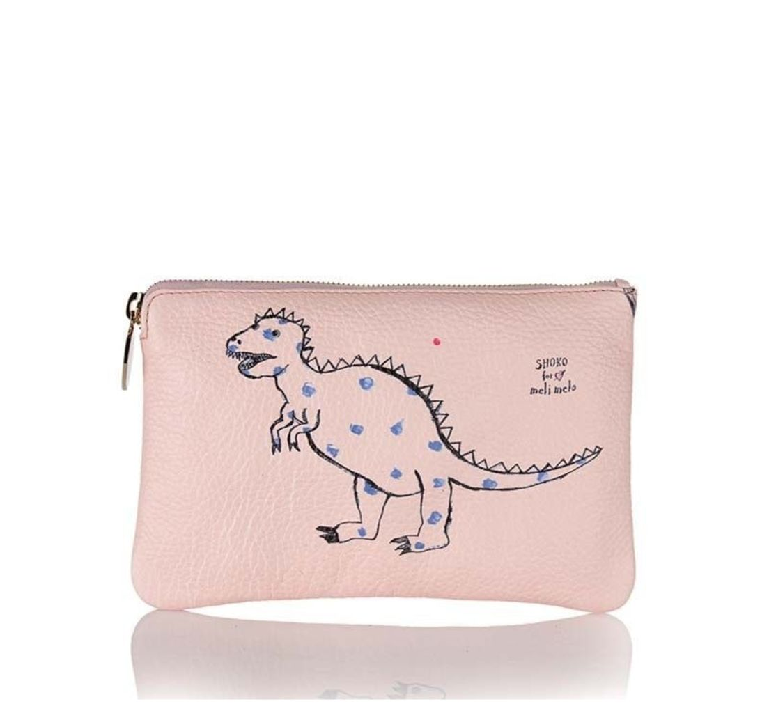 Pink Clutch Bag Shoko for meli melo