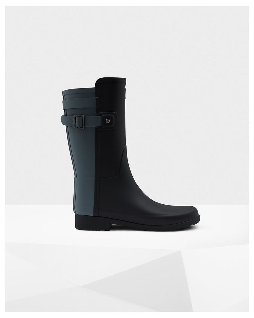 Women's Original Short Refined Back Strap Wellington Boots