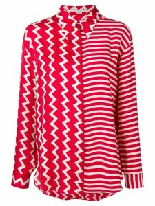 Stella McCartney multi-pattern shirt - Red
