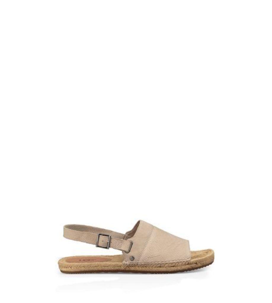 UGG Isadora Snake Womens Sandals Horchata 10