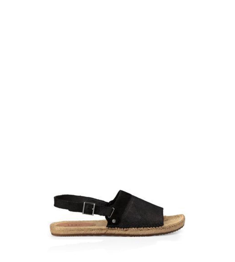 UGG Isadora Snake Womens Sandals Black 9