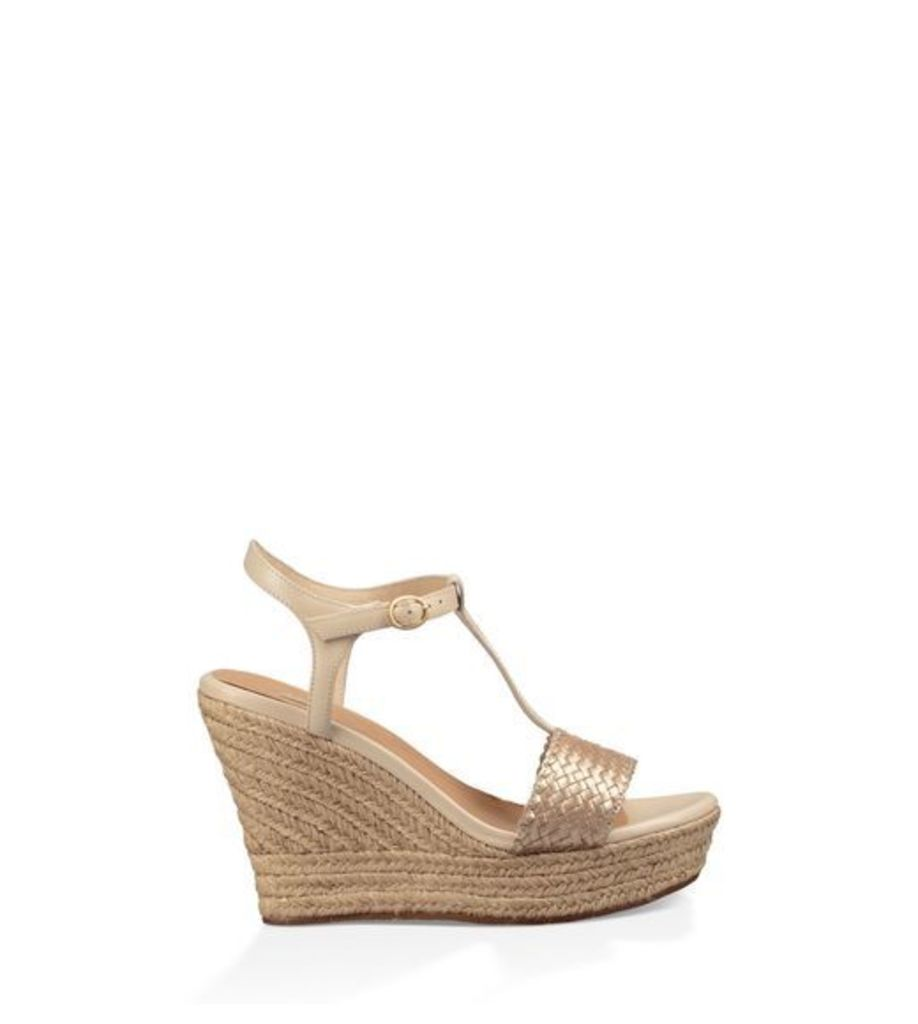 UGG Fitchie Ii Womens Sandals Soft Gold 3