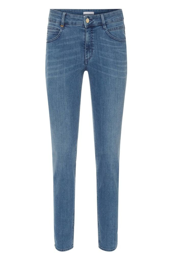 Regular-fit jeans in a stretchy cotton blend: `Nelin`