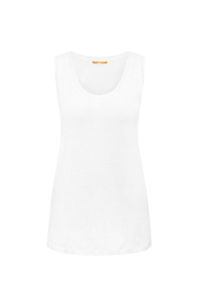 Linen tank top: `Tertanky`