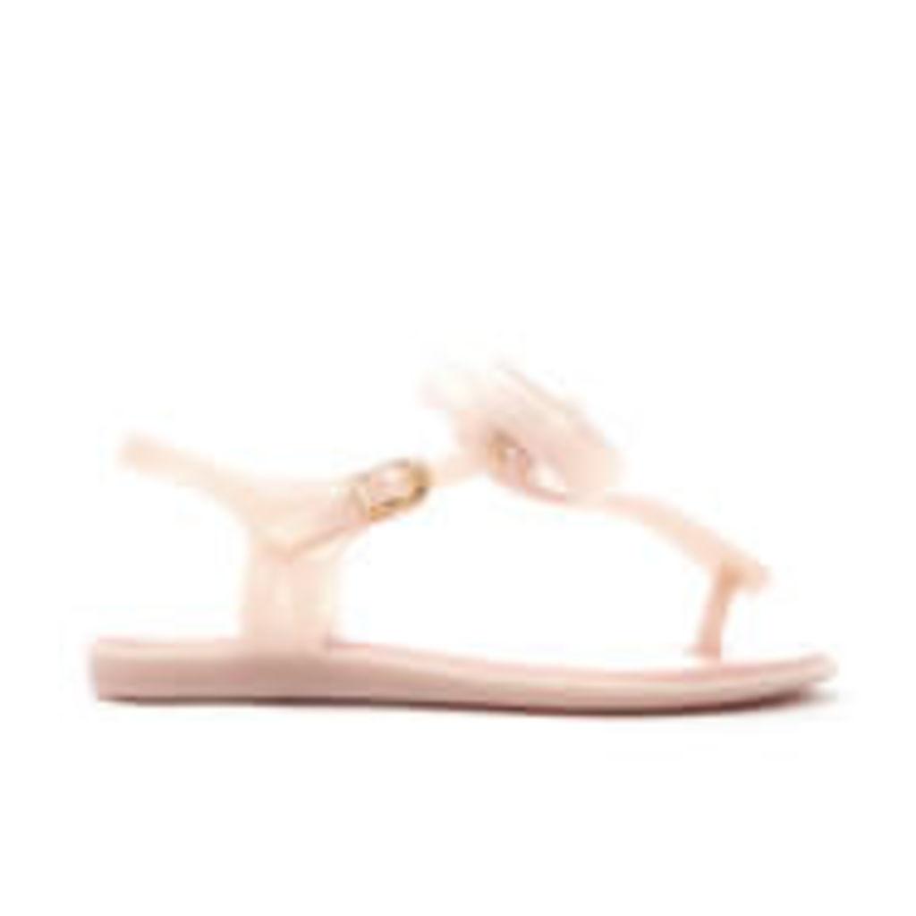 Mini Melissa Kid's Solar Bow Sandals - Blush - UK 2 Kids
