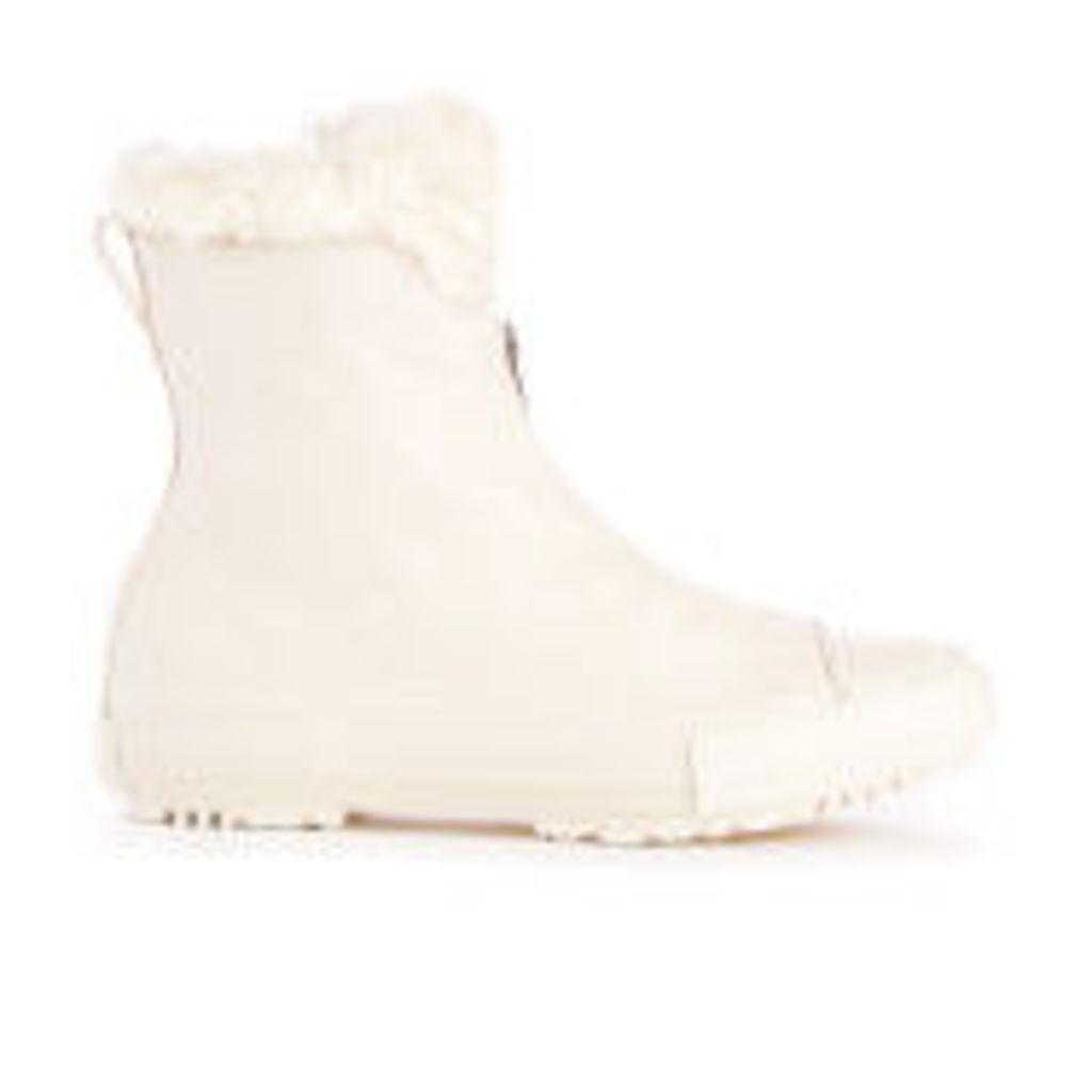 Converse Women's Chuck Taylor All Star Hi Rise Shroud Boots - Cream - UK 7
