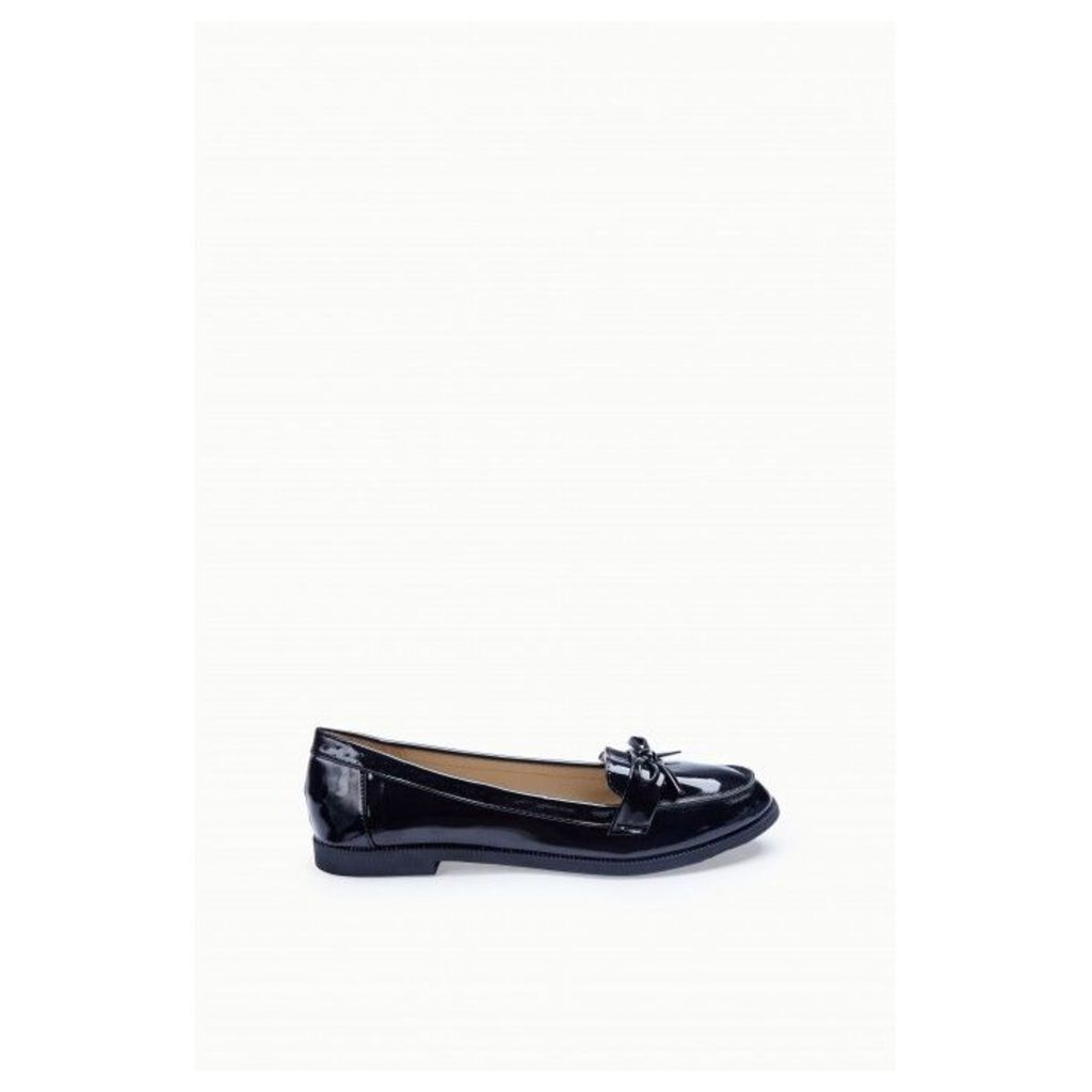 DALIN BOW PATENT LOAFER