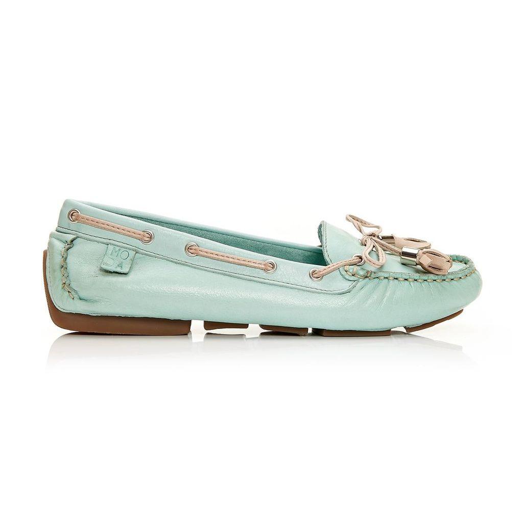 Moda in Pelle Alivia Mint Flat Casual Shoes