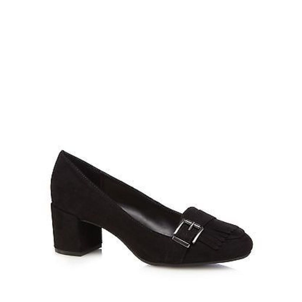 The Collection Womens Black High Loafer Shoes From Debenhams