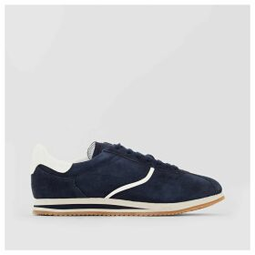 Amu Lace Up Leather Trainers