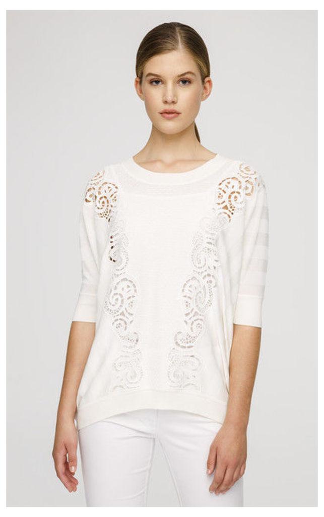 ESCADA Pullover Sassir White