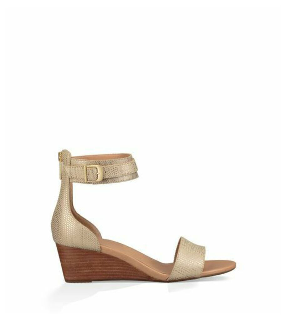 UGG Char Metallic Womens Sandals Bronze 3