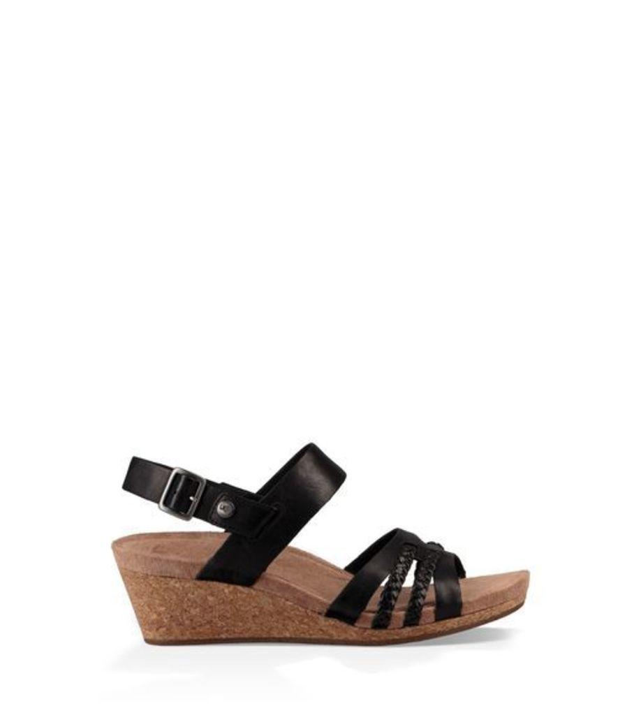 UGG Serinda Womens Sandals Black 10