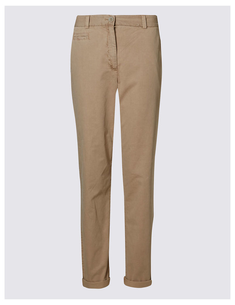 M&S Collection Pure Cotton Standard Chinos